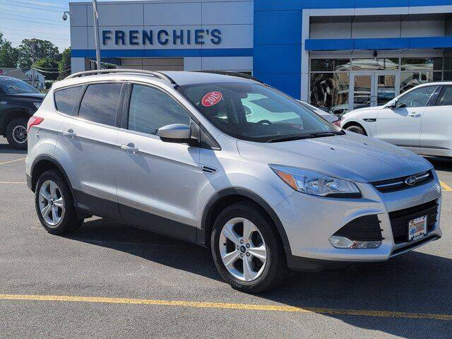 2015 Ford Escape for sale at Frenchie's Chevrolet and Selects in Massena NY