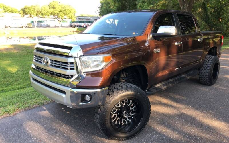 2014 Toyota Tundra for sale at Powerhouse Automotive in Tampa FL