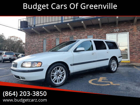 2004 Volvo V70 for sale at Budget Cars Of Greenville in Greenville SC
