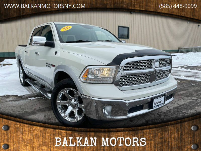 2016 RAM Ram Pickup 1500 for sale at BALKAN MOTORS in East Rochester NY