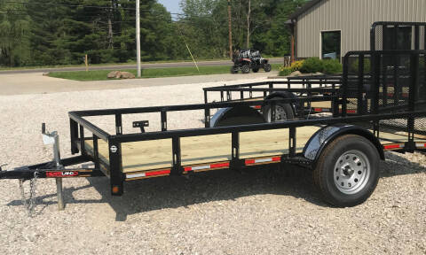 2019 Heartland 12' dovetail nontilt utility for sale at Gaither Powersports & Trailer Sales in Linton IN