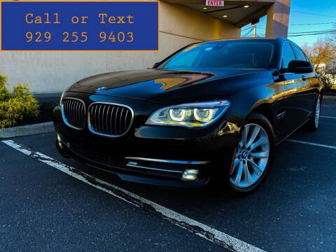 2015 BMW 7 Series for sale at Ultimate Motors in Port Monmouth NJ