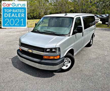 2017 Chevrolet Express Passenger for sale at Brothers Auto Sales of Conway in Conway SC