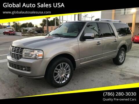 2008 Lincoln Navigator L for sale at Global Auto Sales USA in Miami FL