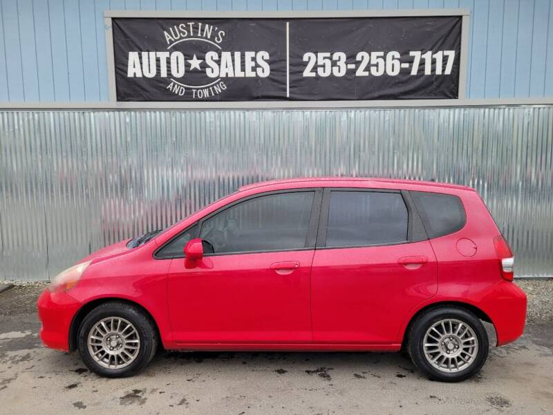 2008 Honda Fit for sale at Austin's Auto Sales in Edgewood WA