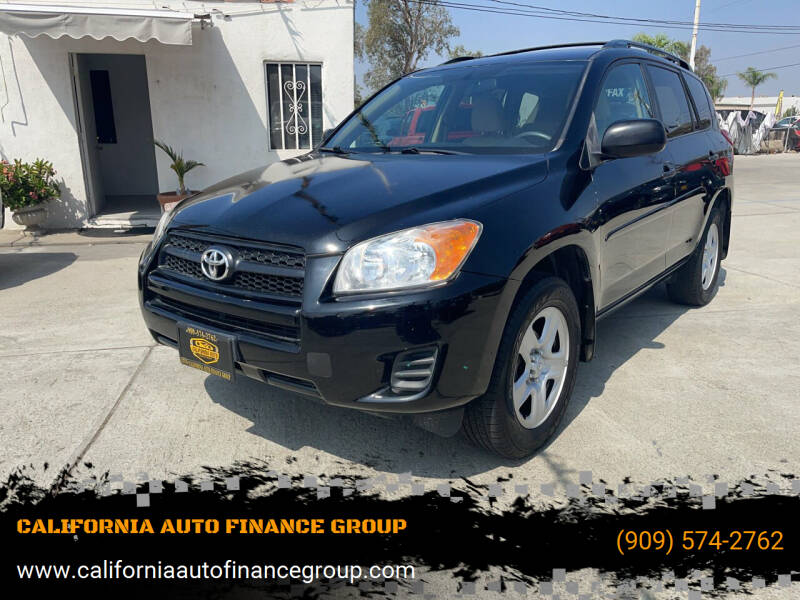 2010 Toyota RAV4 for sale at CALIFORNIA AUTO FINANCE GROUP in Fontana CA