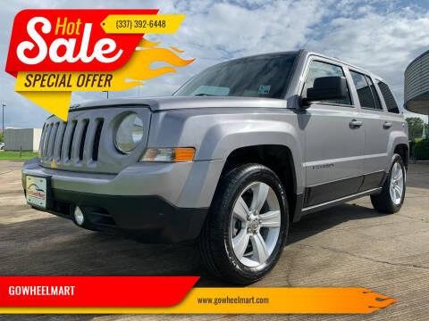 2016 Jeep Patriot for sale at GOWHEELMART in Leesville LA
