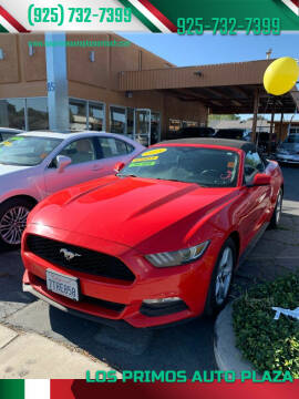 2015 Ford Mustang for sale at Los Primos Auto Plaza in Antioch CA