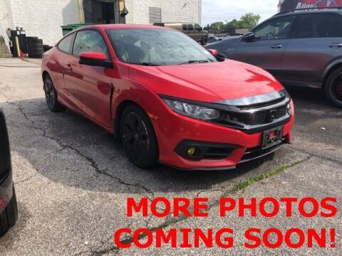 2017 Honda Civic for sale at Mercedes-Benz of North Olmsted in North Olmsted OH
