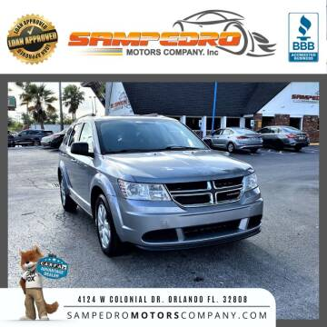 2017 Dodge Journey for sale at SAMPEDRO MOTORS COMPANY INC in Orlando FL