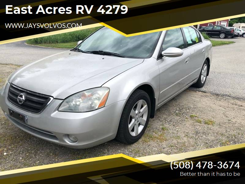2003 Nissan Altima for sale at East Acres RV 4279 in Mendon MA