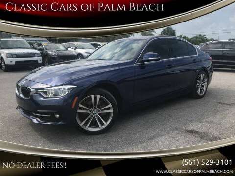 2018 BMW 3 Series for sale at Classic Cars of Palm Beach in Jupiter FL