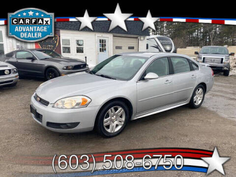 2011 Chevrolet Impala for sale at J & E AUTOMALL in Pelham NH