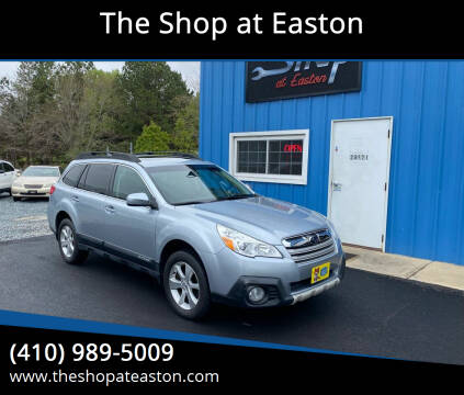 2013 Subaru Outback for sale at The Shop at Easton in Easton MD
