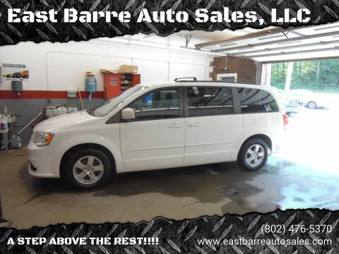 2013 Dodge Grand Caravan for sale at East Barre Auto Sales, LLC in East Barre VT