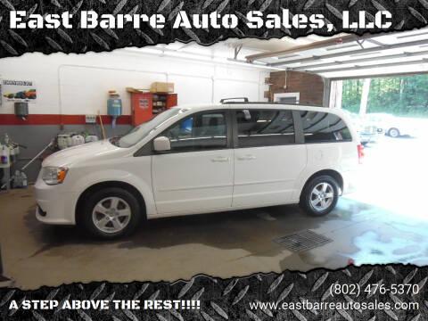2013 Dodge Grand Caravan for sale at East Barre Auto Sales, LLC in East Barre VT