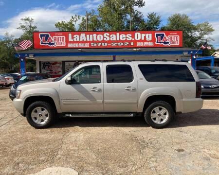 2009 Chevrolet Suburban for sale at LA Auto Sales in Monroe LA