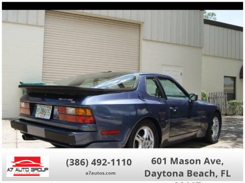 1989 Porsche 944 for sale at A7 AUTO SALES in Daytona Beach FL