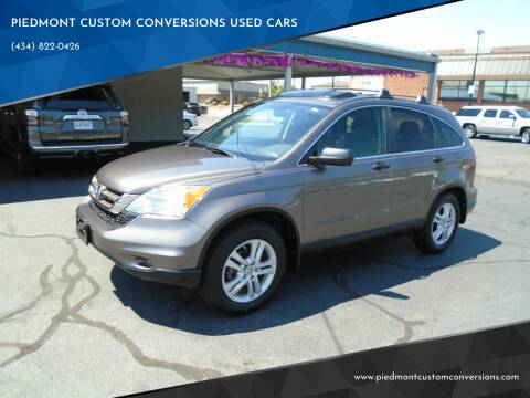 2011 Honda CR-V for sale at PIEDMONT CUSTOM CONVERSIONS USED CARS in Danville VA