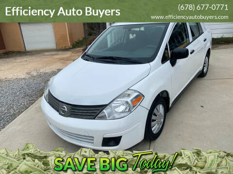 2011 Nissan Versa for sale at Efficiency Auto Buyers in Milton GA