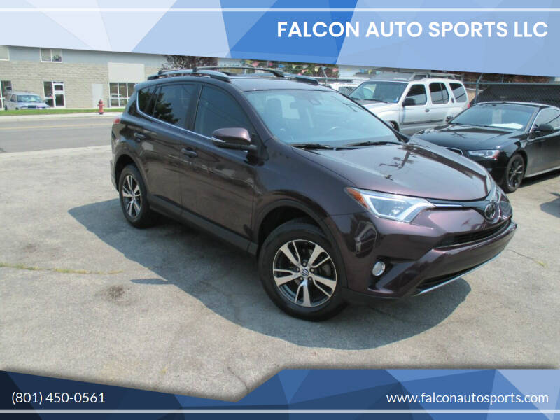 2017 Toyota RAV4 for sale at Falcon Auto Sports LLC in Murray UT