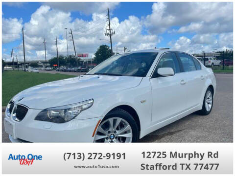 2009 BMW 5 Series for sale at Auto One USA in Stafford TX