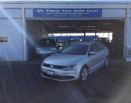 2011 Volkswagen Jetta for sale at My Three Sons Auto Sales in Sacramento CA