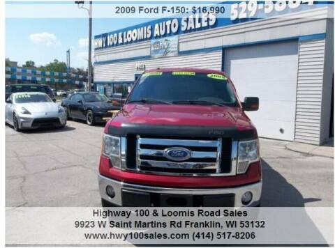 2009 Ford F-150 for sale at Highway 100 & Loomis Road Sales in Franklin WI