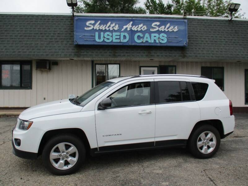 2014 Jeep Compass for sale at SHULTS AUTO SALES INC. in Crystal Lake IL