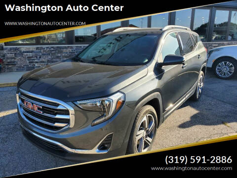2019 GMC Terrain for sale at Washington Auto Center in Washington IA