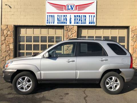 2007 Kia Sportage for sale at LV Auto Sales & Repair, LLC in Yakima WA