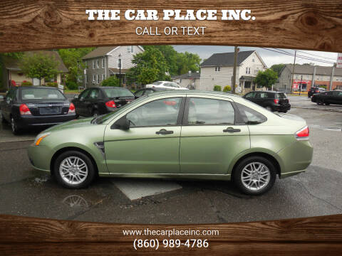 2008 Ford Focus for sale at THE CAR PLACE INC. in Somersville CT