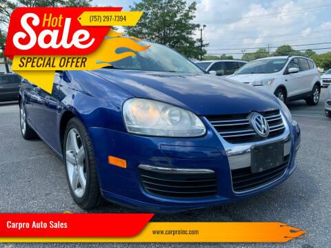 2009 Volkswagen Jetta for sale at Carpro Auto Sales in Chesapeake VA