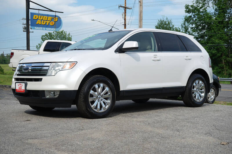 2010 Ford Edge for sale at Dubes Auto Sales in Lewiston ME