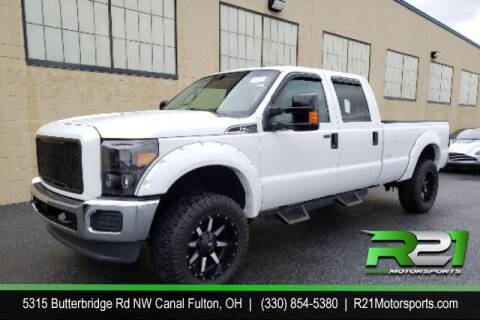 2015 Ford F-250 Super Duty for sale at Route 21 Auto Sales in Canal Fulton OH