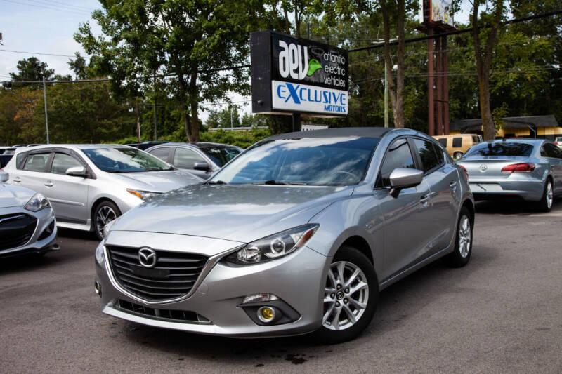 2014 Mazda MAZDA3 for sale at EXCLUSIVE MOTORS in Virginia Beach VA