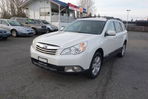 2011 Subaru Outback for sale at Leavitt Auto Sales and Used Car City in Everett WA