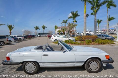 1988 Mercedes-Benz 560-Class for sale at Top Classic Cars LLC in Fort Myers FL