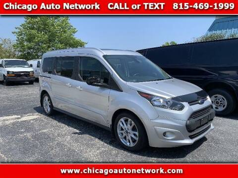 2014 Ford Transit Connect Wagon for sale at Chicago Auto Network in Mokena IL