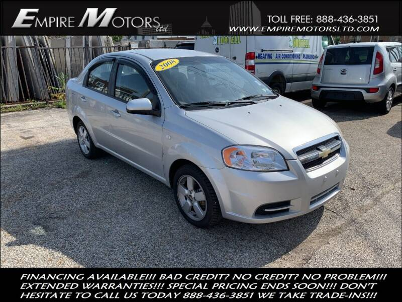 2008 Chevrolet Aveo for sale at Empire Motors LTD in Cleveland OH