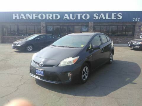 2013 Toyota Prius for sale at Hanford Auto Sales in Hanford CA