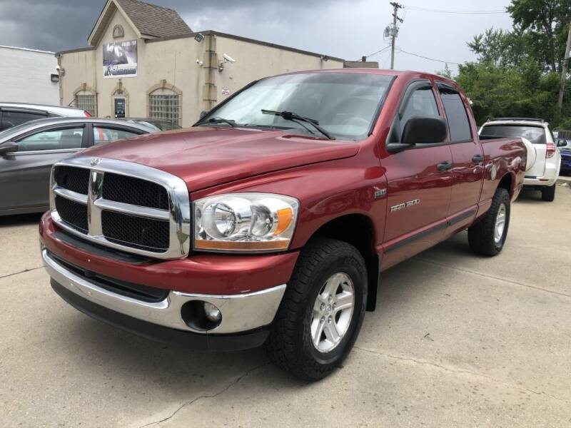 2006 Dodge Ram Pickup 1500 for sale at AAA Auto Wholesale in Parma OH