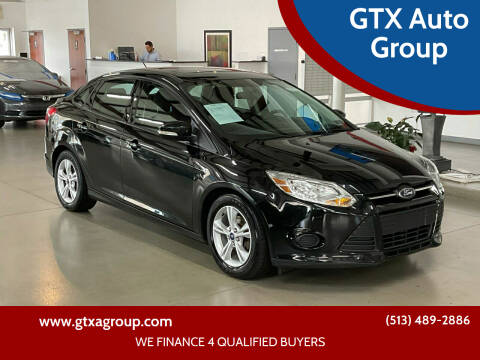2014 Ford Focus for sale at GTX Auto Group in West Chester OH