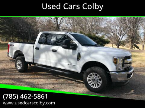 2018 Ford F-250 Super Duty for sale at Used Cars Colby in Colby KS