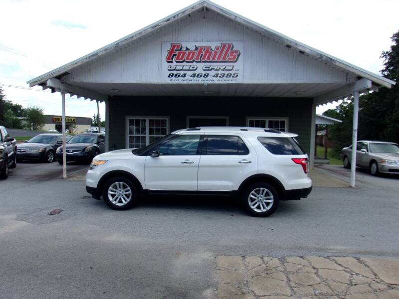 2013 Ford Explorer for sale at Foothills Used Cars LLC in Campobello SC