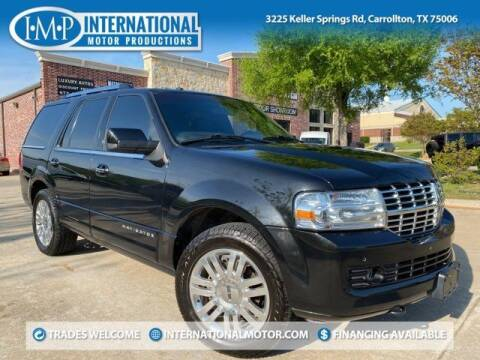 2012 Lincoln Navigator for sale at International Motor Productions in Carrollton TX