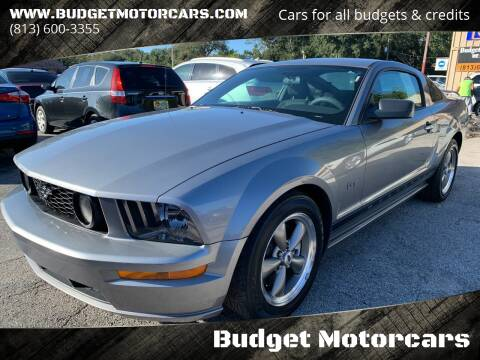 2006 Ford Mustang for sale at Budget Motorcars in Tampa FL