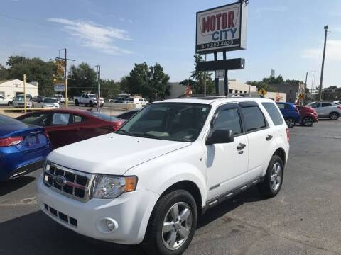 2008 Ford Escape for sale at Motor City Sales in Wichita KS