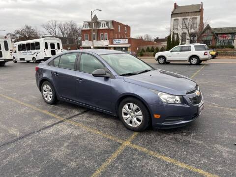 2013 Chevrolet Cruze for sale at DC Auto Sales Inc in Saint Louis MO