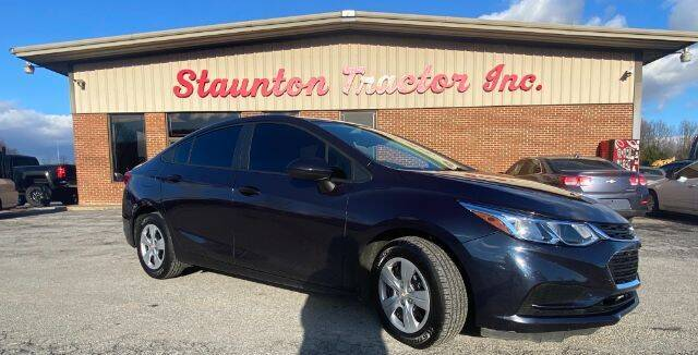 2016 Chevrolet Cruze for sale at STAUNTON TRACTOR INC in Staunton VA